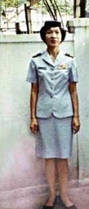 Trung tá Hạnh Nhơn khi còn tại ngũ.